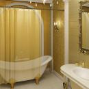 Занавес для ванной 180*180см. 6671